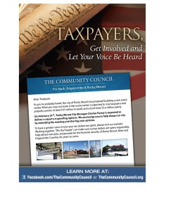 Community Council Mailer - Feb 2015